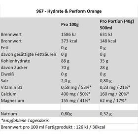 Isostar Hydrate & Perform Dose 400g Orange